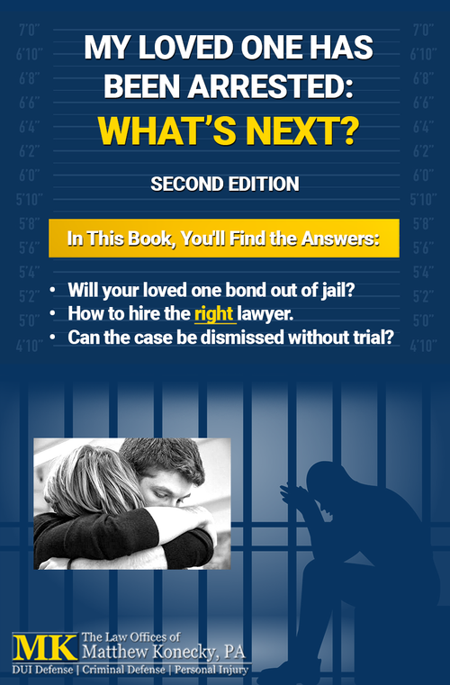 My Loved One Has Been Arrested: What's Next?