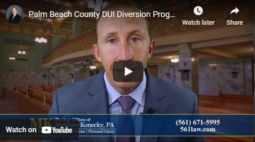 Are You Eligible for the Palm Beach County DUI Diversion Program?