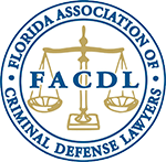 Logo Recognizing The Law Office of Matthew Konecky, P.A.'s affiliation with FL Association of Criminal Defense Lawyers