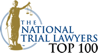 Logo Recognizing The Law Office of Matthew Konecky, P.A.'s affiliation with National Trial Lawyers Top 100