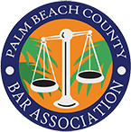 Logo Recognizing The Law Office of Matthew Konecky, P.A.'s affiliation with Palm Beach County Bar